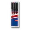 """EDDING Alkoholos marker készlet, OHP, 0,3 mm, EDDING """"140 S"""", 4 különböző szín"""