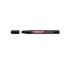 """EDDING Lakkmarker, 1-2 mm, EDDING """"791"""", fekete filctoll, marker"""