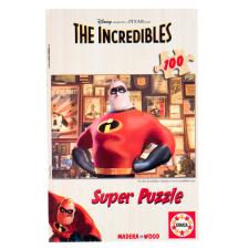 Educa Disney Hihetetlen Család fa puzzle, 100 darabos puzzle, kirakós
