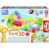Educa Puzzle szín és forma 3D