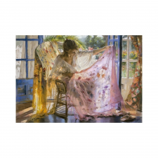 Educa Vicente Romero, Rózsaszín kendő puzzle, 2000 darabos puzzle, kirakós