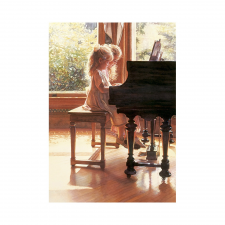 Educa Zongorázó kislányok puzzle, 1500 darabos puzzle, kirakós