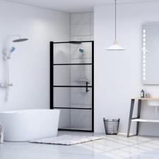 Edzett üveg zuhanyajtó 81 x 195 cm fürdőszoba kiegészítő