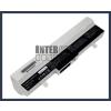 Eee PC 1005HA-PU1X-BU 6600 mAh 9 cella fehér notebook/laptop akku/akkumulátor utángyártott