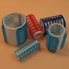EF-ES pattintós műanyag hajcsavaró, 40 mm, 5 db