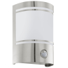 EGLO 30192 WL/1 w.sensor stainless-steel/sat. 'CERN
