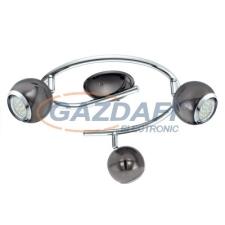 EGLO 31007 Szpot 3xGU10 3W LED nero 29cm Bimeda világítás