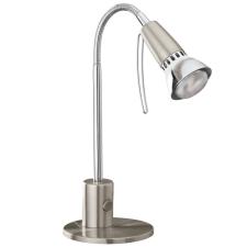 EGLO 86955 FOX 1 íróasztali lámpa, matt nikkel, króm színben, MAX 1X40W teljesítménnyel, E14 foglalattal, billenő kapcsolóval, IP20 védettséggel ( EGLO 86955 ) világítás
