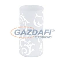 EGLO 91242 Asztali E14 1x60W Amadora üveg Geo világítás