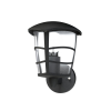 EGLO 93098 outdoor-WL 1-light E27 60W, downwards, black/clear 'ALORIA'