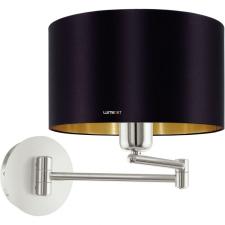 EGLO 95054 Textil falikar E27 60W fekete/arany Maserlo világítás