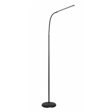 EGLO 96439 LAROA beltéri LED állólámpa, fekete színben, MAX 4,5W teljesítménnyel, LED fényforrással ( nem cserélhető ), 4000K színhőmérséklettel, dimmelős érintőkapcsolóval ( EGLO 96439 ) világítás