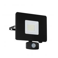 EGLO 97462 FAEDO 3 kültéri mozásérzékelős LED reflektor, fekete színben, MAX 30W teljesítménnyel, LED fényforrással, 5000K színhőmérséklettel, mozgásérzékelővel, IP44 védettséggel ( EGLO 97462 ) kültéri világítás