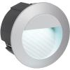 EGLO Kültéri falbaépíthető lámpa LED-es 2,5W IP65 ezüst - Zimba-led EGLO