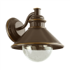 EGLO Kültéri fali lámpa E27 1X40W IP44 barna/vörösréz - Albacete EGLO