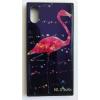 egyéb BH687 Telefon tok BLU-RAY Üveg Bird Black Iphone X