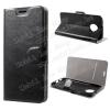 egyéb CRAZY notesz / mappa tok - FEKETE - oldalra nyíló, rejtett mágneses záródás, belsõ zseb, asztali tartó funkció, szilikon belsõ - MOTOROLA Moto G6