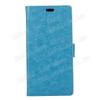 egyéb CRAZY notesz tok / flip tok - VILÁGOSKÉK - asztali tartó funkciós, oldalra nyíló, rejtett mágneses záródás, szilikon belsõ, bankkártyatartó - ASUS Zenfone 4 Selfie Pro (ZD552KL)