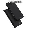 egyéb DUX DUCIS slim design notesz / mappa tok - SÖTÉTSZÜRKE - oldalra nyíló flip cover, asztali tartó funkció, szilikon belső - Vivo V7 / Vivo Y75 - GYÁRI