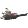 egyéb HDMI CABLE-5502-5.0 1.3 KÁBELLEL ÉS ÁLLÍTHATÓ CSATLAKOZÓKKAL