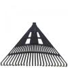 egyéb Lombseprű műanyag 60cm egyenes fekete NYELEZETT (Lombseprű)