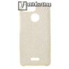 egyéb Műanyag védő tok / hátlap - szilikon szegély, csillogó, flitteres hátlap - ARANY - Xiaomi Redmi 6