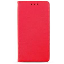 egyéb Smart magnet Xiaomi Mi Note 10 Lite oldalra nyíló mágneses könyv tok szilikon belsővel piros tok és táska