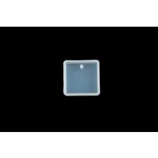 Egyéb szilikon moldok Medál szilikon forma négyzet - MSZFN süthető gyurma
