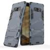 egyéb TRANSFORM mûanyag védõ tok / hátlap - SÖTÉTKÉK - szilikon betétes, kitámasztható - ERÕS VÉDELEM! - SAMSUNG SM-N950F Galaxy Note8
