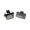 Einparts Citroen / Peugeot rendszámtábla LED készlet