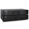 Electronic-Star 2.0 HiFi Szett Auna Elegance Tower, CD-lejátszó, 600 W-os