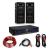 Electronic-Star HiFi erősítő & hangfal szett, 2 x 250 W erősítő, 2 x hangfal, 6,5