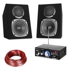 Electronic-Star HiFi Stereo Sound Set, erősítő és hangfal készlet, USB, SD, MP3 - 30 Watt erősítő