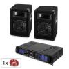 Electronic-Star Malone SPL MP3 hangfalszett, erősítő, 2 x hangfal