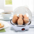 Elektromos tojásfőző, 3 főzési fokozattal 7 tojás számára