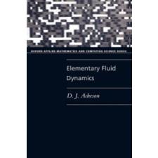 Elementary Fluid Dynamics – D.J. Acheson idegen nyelvű könyv