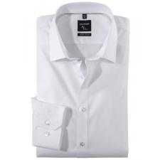 Elite Fashion OLYMP No6 Super Slim Fehér Ing 46 férfi ing