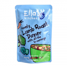 Ella's kitchen Ella's kitchen Bio báránysült krumplival és zöldségekkel 190 g bébiétel