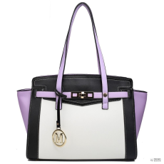 Elle Miss Lulu London LG1640 - Miss Lulu ellentét Winged válltáska kézi táska lila