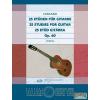 EMB 25 etűd gitárra Op. 60