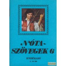 EMB Nótaszövegek 6. antikvárium - használt könyv