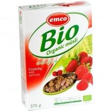 Emco Bio Müzli Piros gyümölcsökkel 375 g reform élelmiszer