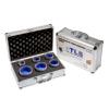 EMIKOO TLS lyukfúró készlet 30-35-40-45-50-68 mm - alumínium koffer