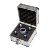 EMIKOO TLS lyukfúró készlet 6-12-14-16-22 mm - alumínium koffer