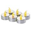 Emos LED teamécses (1x LED, vintage) - ezüst 6db/csomag