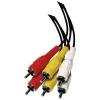 Emos RCA (AV) összekötő kábel 3xRCA - 3xRCA 1,5m
