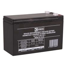 Emos SLA ólomakkumulátor 12V 7,2Ah F1 (OT7.2-12) AGM autó akkumulátor
