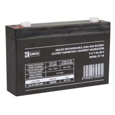 Emos SLA ólomakkumulátor 6V 7Ah F1 (OT7-6) AGM autó akkumulátor