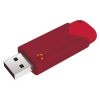 Emtec Pen drive EMTEC ECMMD8GB103R (8 GB; USB 3.0; Red)