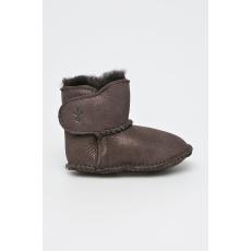 EMU Australia - Gyerek cipő Baby Bootie Metallic - sötét barna - 1390974-sötét barna